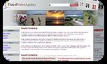 אתר חדשות למטיילים בדרום אמריקה.מערכת עדכוני חדשות חכמה שמושכת מידע ממקורות חדשות שונים ומציגה אותם לפי המדינות והערים הרלוונטיות.